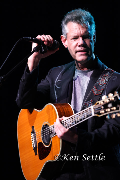 Randy Travis at The Stars and Stripes festival in Sterling Heights ...